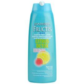 Garnier Fructis Citrus Detox šampon proti lupům pro mastné vlasy  250 ml