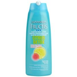 Garnier Fructis Citrus Detox champô anticaspa para cabelo oleoso  250 ml