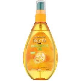 Garnier Fructis Miraculous Oil nährendes Öl für alle Haartypen  150 ml