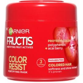 Garnier Fructis Color Resist Maske mit ernährender Wirkung zum Schutz der Farbe  300 ml