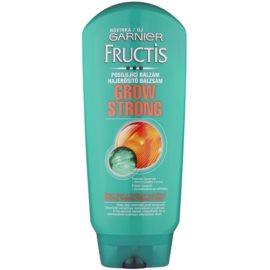 Garnier Fructis Grow Strong balsam fortifiant pentru par slab  200 ml