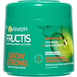 Garnier Fructis Grow Strong masca fortifianta pentru par slab  300 ml
