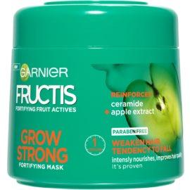 Garnier Fructis Grow Strong зміцнююча маска для слабкого волосся  300 мл
