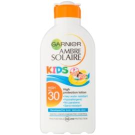 Garnier Ambre Solaire Kids mleczko ochronne dla dzieci SPF 30  200 ml