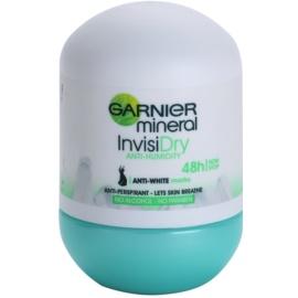Garnier Mineral Invisi Dry Antitranspirant-Deoroller 48h  50 ml