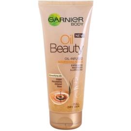 Garnier Oil Beauty peeling corporal oleoso nutritivo para pele seca  200 ml