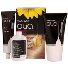 Garnier Olia barva za lase odtenek 10.1 Very Light Blond 3 kos
