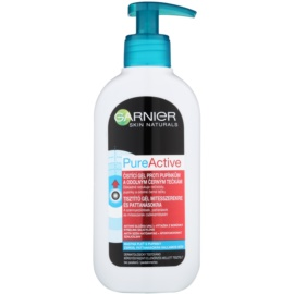 Garnier Pure Active Reinigungsgel  gegen Mitesser  200 ml