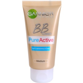Garnier Pure Active BB krém proti nedokonalostem pleti Medium  50 ml