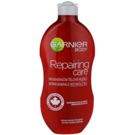 Garnier Repairing Care regeneráló testápoló tej a nagyon száraz bőrre  400 ml