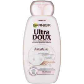 Garnier Ultra Doux champô apaziguador  para cabelo fino  200 ml