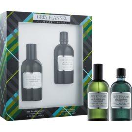 Geoffrey Beene Grey Flannel Gift Set I.  Eau De Toilette 120 ml + Aftershave Water 120 ml