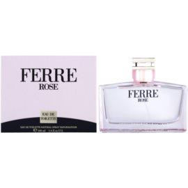 Gianfranco Ferré Ferré Rose Eau de Toilette für Damen 100 ml