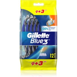 Gillette Blue 3 One Time Razors  12 pc