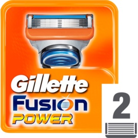 Gillette Fusion Power Replacement Blades  2 stk.