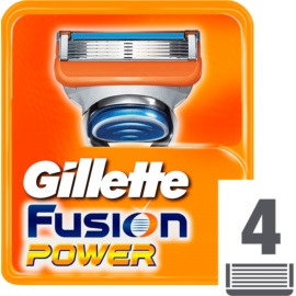 Gillette Fusion Power Replacement Blades  4 stk.