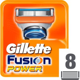 Gillette Fusion Power Replacement Blades  8 stk.