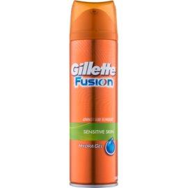 Gillette Fusion Hydra Gel gel na holení pro citlivou pokožku  200 ml
