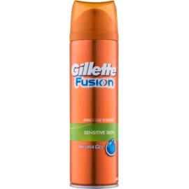Gillette Fusion Hydra Gel żel do golenia do skóry wrażliwej  200 ml
