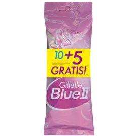 Gillette Blue II jednorázové strojky 10 + 5 Ks