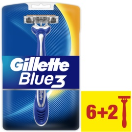 Gillette Blue 3 lâminas de barbear descartáveis  8 un.