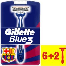Gillette Blue 3 FCBarcelona rasoirs jetables  8 pcs