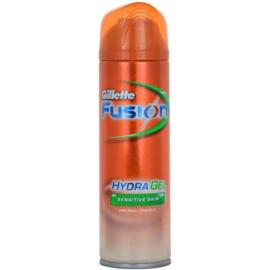 Gillette Fusion Hydra Gel гел за бръснене  за чувствителна кожа   200 мл.