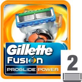 Gillette Fusion Proglide Power náhradné žiletky  2 Ks