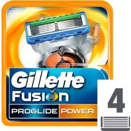 Gillette Fusion Proglide Power zapasowe ostrza  4 szt.