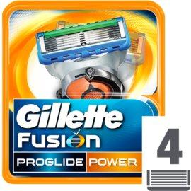 Gillette Fusion Proglide Power náhradné žiletky  4 Ks