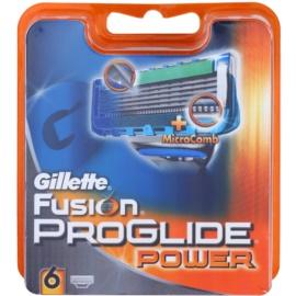 Gillette Fusion Proglide Power Ersatzklingen  6 Stück  6 St.