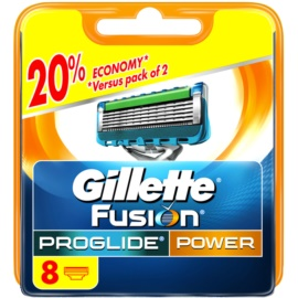 Gillette Fusion Proglide Power nadomestne britvice  8 kos