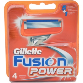 Gillette Fusion Power Replacement Blades  4 pc