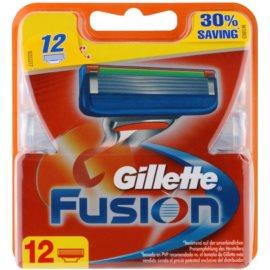 Gillette Fusion lames de rechange  12 Ks