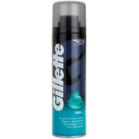 Gillette Gel gel na holení pro citlivou pokožku  200 ml