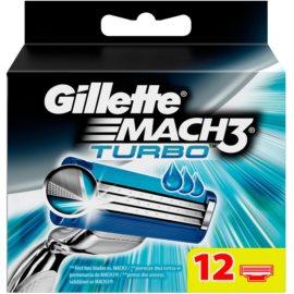Gillette Mach 3 Turbo lames de rechange 12 Ks