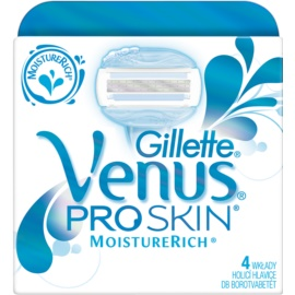 Gillette Venus ProSkin™  MoistureRich cabezal de recambio  4 ud