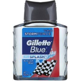Gillette Blue Splash After Shave Water  100 ml