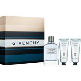 Givenchy Gentlemen Only dárková sada V.  toaletní voda 100 ml + sprchový gel 75 ml + balzám po holení 75 ml