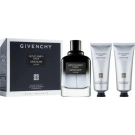 Givenchy Gentlemen Only Intense darčeková sada III.  toaletná voda 100 ml + sprchový gel 75 ml + balzam po holení 75 ml