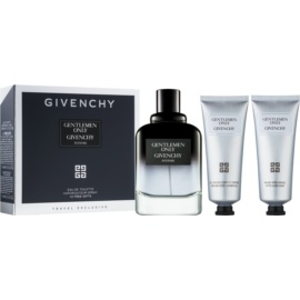 Givenchy Gentlemen Only Intense set cadou III  Apa de Toaleta 100 ml + Gel de dus 75 ml + After Shave Balsam 75 ml