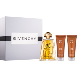 Givenchy Pí Geschenkset I. Eau de Toilette 100 ml + Duschgel 75 ml + After Shave Balsam 75 ml