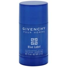 Givenchy Pour Homme Blue Label дезодорант-стік для чоловіків 75 мл