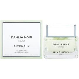 Givenchy Dahlia Noir L´Eau toaletní voda pro ženy 50 ml