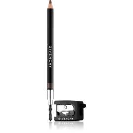 Givenchy Eyebrow Pencil creion pentru sprancene cu ascutitoare culoare 01 Brunette 1,1 g