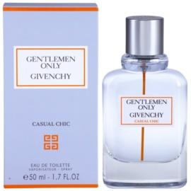 Givenchy Gentlemen Only Casual Chic toaletná voda pre mužov 50 ml
