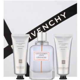 Givenchy Gentlemen Only Casual Chic ajándékszett I.  Eau de Toilette 100 ml + tusfürdő gél 75 ml + borotválkozás utáni balzsam 75 ml