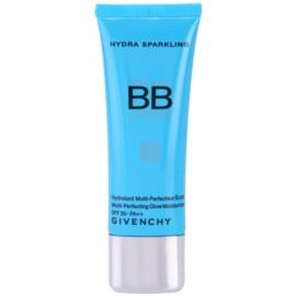 Givenchy Hydra Sparkling krem BB o dzłałaniu nawilżającym  odcień 02 Medium Beige SPF 30 40 ml