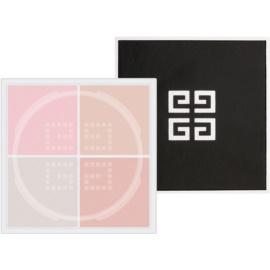 Givenchy Prisme Libre pudră matifiantă iluminatoare 4 in 1 culoare 7 Voile Rosé 4 x 3 g