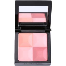 Givenchy Le Prisme púderes arcpír ecsettel árnyalat 22 Vintage Pink  7 g